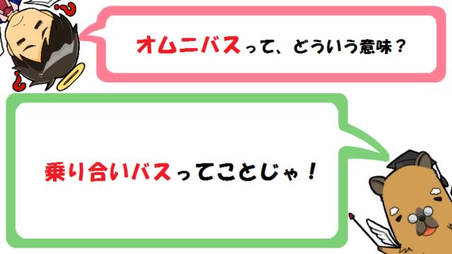 オムニバスの意味とは?ディズニーや講義との関係は?英語と使い方も!